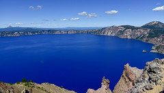 Crater Lake, Oregon (maytag97) Tags: maytag97 nikon d750 lake crater oregon blue beautiful water nature usa natural landscape outdoors deep park national ground volcanic caldera summer sky travel ancient stone