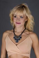 Girl with a necklace (piotr_szymanek) Tags: ania aniaz woman young skinny face portrait studio blonde longhair necklace dress nobra 1k 20f 50f 5k 100f 10k 20k