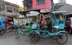 kolkata turquoise rickshaws (kexi) Tags: kolkata india asia rickshaws turquoise canon february 2017 instantfave happyplanet asiafavorites