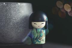lucky girl (rockinmonique) Tags: kimmidoll macro lowkey bokeh moniquewphotography canon canont6s tamron tamron45mm copyright2019moniquewphotography