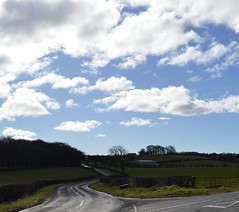 Junction, Country Lanes, Ayrshire, Scotland. (Phineas Redux) Tags: junctioncountrylanesayrshirescotland scottishcountrylanes scottishlandscapes scottishscenery ayrshirescotland scotland