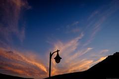 Evening on Lanzarote (bernd obervossbeck) Tags: lanzarote eveninglight eveningsky eveningmood evening abendlicht abend abendstimmung abendhimmel abendrot laterne lantern silhouette wolken sky himmel clouds kanarischeinseln canarianislands fujixt1 berndobervossbeck