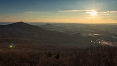 Sunrise at Pulpit Rock (Radical Retinoscopy) Tags: pulpitrock appalachiantrail hamburg pa sunrise mountain peaks silhouette hdr canon80d canon1740