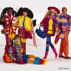 1990 Benetton Barbie (Barbie Collectors Guide '90s) Tags: 1990 benetton barbie christie ken kira marina teresa