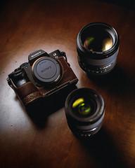 Sony a7 III // 24GM // 85GM (Jonathan Villanueva) Tags: sony a7 iii lims design half case leather camera mirrorless ii 85 24 85mm 24mm g master 85gm 24gm removedfromstrobistpool nostrobistinfo seerule2