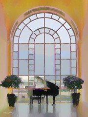 On a Grand Scale (lensletter) Tags: piano grand window architecture grandpiano handheldart vancouver view lensletter sharingart