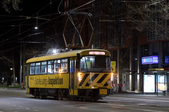 Tatra T4D MT 201 122-2 (rengawfalo) Tags: arbeitswagen 201122 tram tramway dresden tatra t4d sachsen saxony strasenbahn train railroad bahn dvbag tranvia tramvaj ckd elektricka öpnv tramwaj sporvogn road car city urbanrail publictransport windshield sky oberleitung fahrdraht