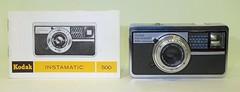 Kodak Instamatic 500 camera with manual (camera.etcetera) Tags: kodak camera 126 germany instamatic