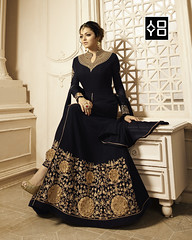 Black Georgette #AnarkaliSuit #YOYOFashion Online Shopping. (yoyo_fashion) Tags: fashion style wedding shopping designer outfitoftheday stylist shoppingonline indianwedding womenfashion ethnic indianfashion offer indianwear ethnicwear designerwear