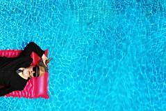 He had the pool to himself (Studio d'Xavier) Tags: werehere summertime liselottesaloninhotel swimmingpool pool drone uav 374482
