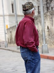guys at the Alamo (miosoleegrant2) Tags: daddy silverdaddies seniors mature over50 maturemen siverdaddy grandad granddad grandaddy granddaddy silverfox saltpepper fit old hombre maduro guapo portrait grey guy man older vacation tourist outside male butch gentleman men guys dude studly manly dudes handsome stud candid hunk sexy masculine people beardy barbate