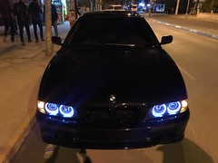 E39 540I nghtstrs (sharp desıgn) Tags: bmw night street mafia turkey xenon 540i e39