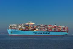 Maersk Hangzhou (southlancs) Tags: maersk containerships felixstoweport harwichhaven shipping