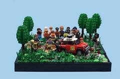 A Helping Hand (MinifigNick) Tags: lego afol mini minicooper minifig minifigure minifignick rally