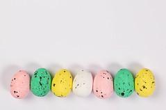 Easter eggs on white background (wuestenigel) Tags: egg easter spring color whitebackground white april decoration greeting banner season empty emptyspace eggs ostern ei noperson keineperson candy süsigkeiten food lebensmittel farbe desktop dotted gepunktet disjunct disjunkt traditional traditionell chocolate schokolade eggshell eierschale pastel pastell confection konfekt closeup nahansicht shell schale isolated isoliert nest dekoration little wenig 2019 2020 2021 2022 2023 2024 2025