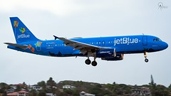 JetBlue | N779JB | Airbus A320-232 | BGI (Terris Scott Photography) Tags: aircraft airplane aviation plane spotting nikon d750 travel barbados jet jetliner jetblue airbus a320 tamron sp 70200mm f28 di vc usd g2 special livery