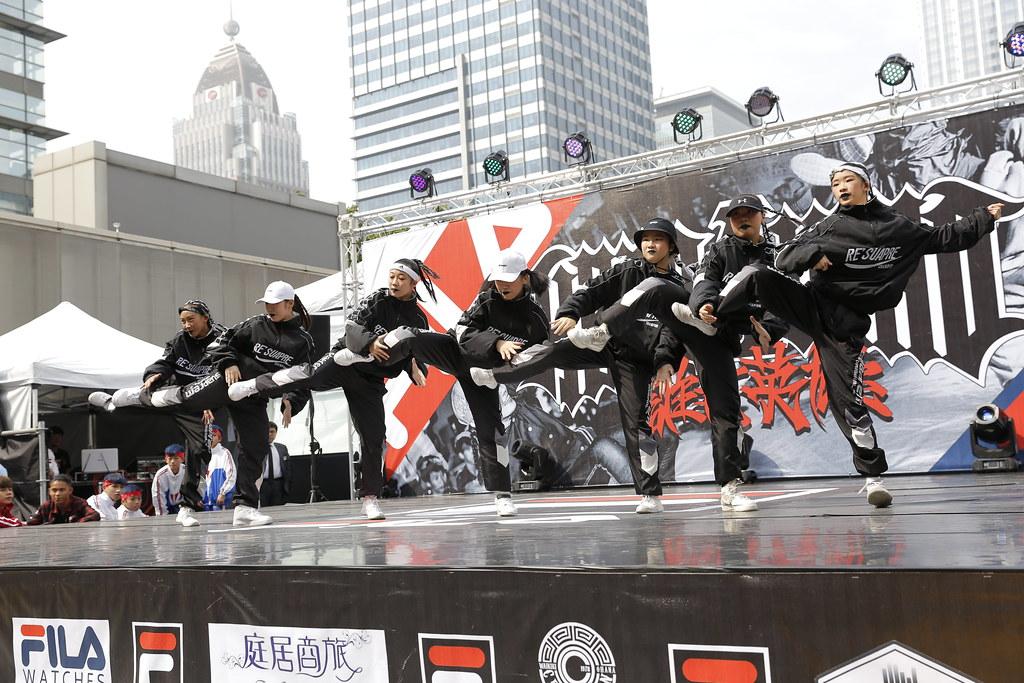 2019 HERO 4 WHO國際街舞大賽來自新北市舞團Mimi DSDJ精彩演出