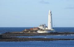 St. Mary's Lighthouse - Whitley Bay (Gilli8888) Tags: nikon coolpix p900 lighthouse stmaryslighthouse stmarysisland whitleybay coast coastal sea northsea northtyneside seaside rocks buildings explore