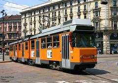Milano 4961 (pretsend (jpretel)) Tags: milano atm tranvia tramway jumbotram 4900