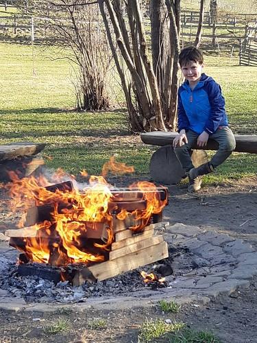 Die Lagerfeuersaison hat begonnen 🔥