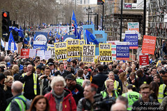 Put It To The People March - London, 23 March 2019 (The Weekly Bull) Tags: brexit britain conservative eu europeanunion london peoplesvote piccadilly tory uk democracy demonstration protest rally rerun referendum remainers