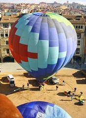 VIC. OSONA. (Barcelona, Spain) (Josep Ollé) Tags: ascenso climbing balloon photos photography flying flight vol vuelo volando