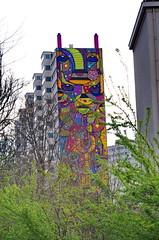 220 Paris en Mars 2019 - à l'entrée du Parc Georges Brassens (paspog) Tags: paris france fresque mural murals fresques streetart parcgeorgesbrassens mars march märz 2019