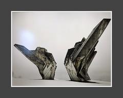 Monument to the Battle of the Sutjeska (digital reproduction) (aiva.) Tags: newyork usa nyc ny museum moma yu concreteutopia art jugoslavija југославија tjentište bosnia bosna yugoslavia photograph spomenik