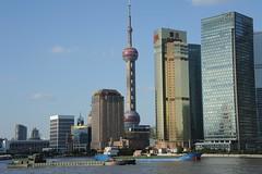 CHINA (gabrielebettelli56) Tags: asia china shanghai buildings palazzi boats nikon travel viaggi fiume river