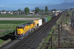 Dash Away Dash Eights (jamesbelmont) Tags: train railroad railway locomotive unionpacific ge c408 mrodv lakotajunction orem utah riogrande