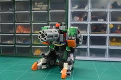 Mechamorpher 'Oner' (MP Dagang) Tags: lego mech robot turret bastion jeep vehicle moc transformer mecha sentry