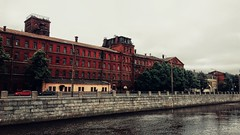 Workers' Quarters, St. Petersburg (Live blog by Denis Snetkov) Tags: санктпетербург россия реканева нева архитектура искуство вдохновение набережная город питер петербург вода отражение рабочие канал квартал дома здание завод фабрика старыйгород атмосфера stpetersburg russia nevariver neva architecture art inspiration embankment city peter petersburg water reflection workers canal quarter houses building factory oldtown atmosphere