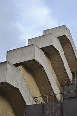 Brutalist steps (Tom Doel) Tags: brutalist brutalism denyslasdun bedfordway ucl bloomsbury instituteofeducation architecture concrete stairs external staircase steps