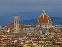 On a level with the dome (Silanov) Tags: eu europe italy italia italien italian italienisch tuscany toscana toskana firenze florence florenz cattedraledisantamariadelfiore cathedral cattedrale kathedrale dome duomo dom cupola church kirche city town stadt piazzalemichelangelo historic historisch architecture architektur downtown midtown citycentre citycenter innercity oldtown oldquarter historicquarter historicdistrict altstadt renaissance middleages mittelalter medieval mittelalterlich unesco unescoworldheritage unescoworldheritagesite unescoworldheritagesites unescowelterbe unescoweltkulturerbe houses häuser buildings gebäude medici machiavelli sky himmel clouds wolken cloudy wolkig overcastsky bedeckterhimmel view aussicht ausblick autumn fall herbst october oktober 2018