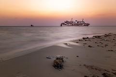 The Lost ship (majdialsalahi) Tags: جد السعودية العلا مصورينالسعودية مصورينالمملكة السعوديه المصورونالعرب عدستي تصويري dslr canon jeddah thelostship thesunkenship majdialsalahi