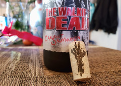 038/365 Zombies (Helen Orozco) Tags: day38365 365the2019edition thelastwinecompany cork zombie thewalkingdead wine