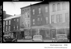 1936  washington ave, east side side between Northern Blvd. and Lark = opposite townsend park (albany group archive) Tags: 1930s old albany ny photograph picture photo vintage history historic historical