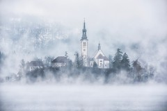 One Last Glimpse (Anna Kwa) Tags: pilgrimagechurchoftheassumptionofmaria bledisland lakebled fog cold slovenia annakwa nikon d750 7002000mmf28 my fleeting moment always seeing heart soul throughmylens life journey unbroken fate destiny love takemyleaveofyou ólafurarnalds