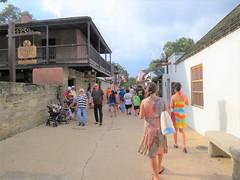 People on St. George Street 1209 (Tangled Bank) Tags: st augustint florida saint people george street 1209