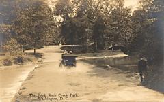 Rock Creek Ford (StreetsofWashington) Tags: rockcreekpark fords postcards washington washingtondc