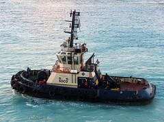 SOCO (Gerry Hill) Tags: soco imo 9570010 tug oranjestad aruba netherlands antilles caribbean windward leaward sea ocean marella tui explorer ship boat