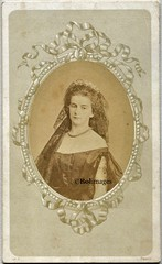 Marie Sophie (Bolimages) Tags: royalhistory royalty monarchy cdv cartedevisite mariasofiaborbone mariesophieofnaples queenofthetwosicilies queenmariesophieofnaples duchessinbavaria wittelsbach bourbon naples sicily sisi empresselisabeth rome