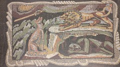 The roaring of lions, the howling of wolves, the raging of the stormy sea, and the destructive sword, are portions of eternity too great for the eye of man (simon_white) Tags: uk london mosaic tatebritain millbank sw1 floor borisanrep williamblake proverbsofhell themarriageofheavenandhell
