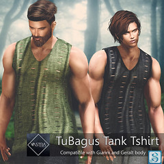 TuBagus Tank (Vastramenz) Tags: tubagus tank male avatar secondlife secondlifefashion ripped tshirt signature giannigeralt vastra