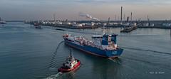 Bit Viking (Peet de Rouw) Tags: tanker haven ship bitviking rtadriaan tugboat europoort portofrotterdam peetderouw drone djimavicplatinum holland