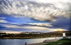 received_374815753340258 (viki.dilova) Tags: lake sunset sky sun jezero kragujevac srbija serbia relax