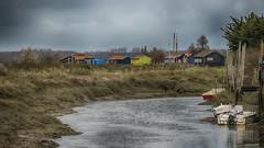 Zozo Ketal ! (Fred&rique) Tags: lumixfz1000 photoshop hdr raw poitoucharentes village cabanes pêcheurs bateaux eau marais marécages nature paysage