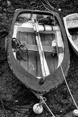 The Blue Boat (Foto John) Tags: leica leicasl leicasl601 leicasltyp601 mirrorless leica2490mmf284asphvarioelmaritsllens monochrome blackwhite blackandwhite boat coast plymouth uk