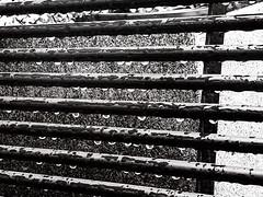 Untitled (StoryInABox) Tags: 500px monotone monochrome concrete perspective shadow blackwhite raindrops patterns calmness peacefull rain storm closeup contrast black white minimalism