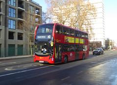 GAL EH49 - YX16OCE - CAMBERWELL ROAD - THUR 17TH JAN 2019 (Bexleybus) Tags: camberwell road se5 london goahead go ahead adl dennis enviro 400 mmc tfl route 40 eh49 yx16oce